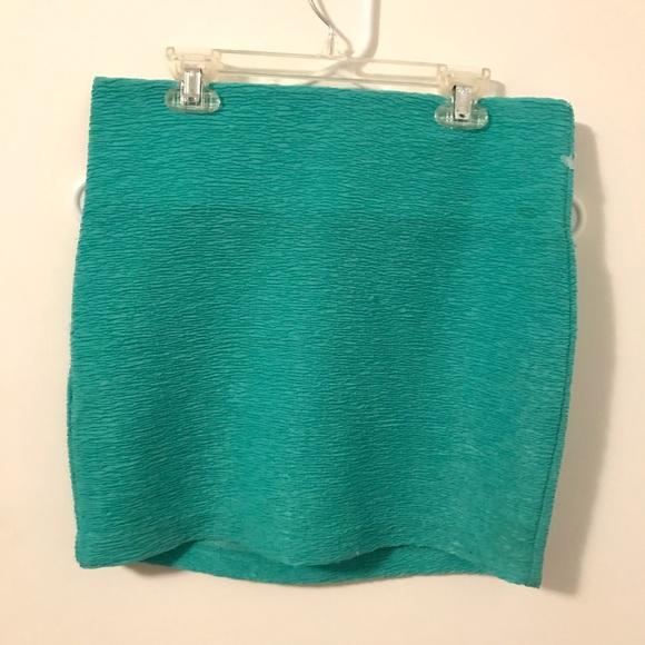 BCBGeneration Dresses & Skirts - Seafoam green miniskirt